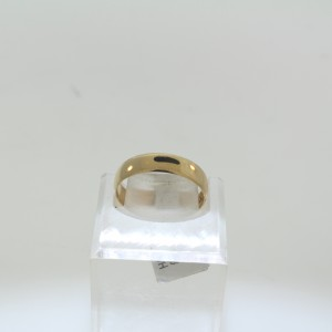 Yellow Gold Plain Wedding Band 2