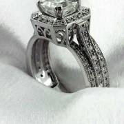 14k Princess cut Diamond Ring