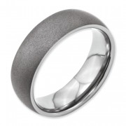 Titanium Stone Finish 7mm Band