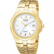Gold Tone Eco-Drive 180 Men's Watch