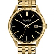 Caravelle New York by Bulova Men's Gold-Tone Stainless Steel Bracelet Watch