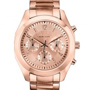 Caravelle New York by Bulova Women's Chronograph Rose Gold-Tone Stainless Steel Bracelet Watch