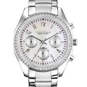 Caravelle New York by Bulova Women's Chronograph Stainless Steel Bracelet Watch