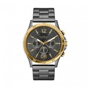 CARAVELLE NEW YORK Men's Grey Bracelet Watch