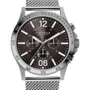Caravelle New York by Bulova Men's Chronograph Stainless Steel Mesh Bracelet Watch