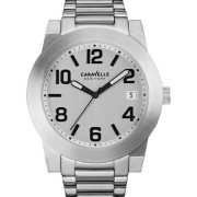 Caravelle New York by Bulova Men's Stainless Steel Bracelet Watch