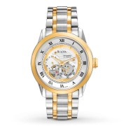 BVA-SERIES Two-Tone Stainless Steel Automatic Bracelet Watch