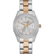 Caravelle New York by Bulova Women's Two-Tone Stainless Steel Bracelet Watch 28mm