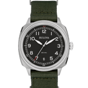 Analog Display Japanese Quartz Green Watch