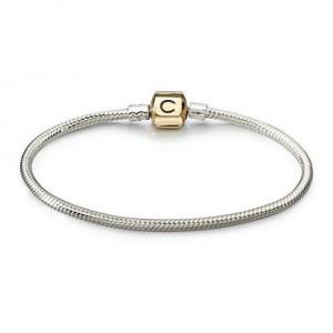 418-Authentic-Chamilia-Bracelet-14K-Gold-Snap-CA-2-for-Women-1