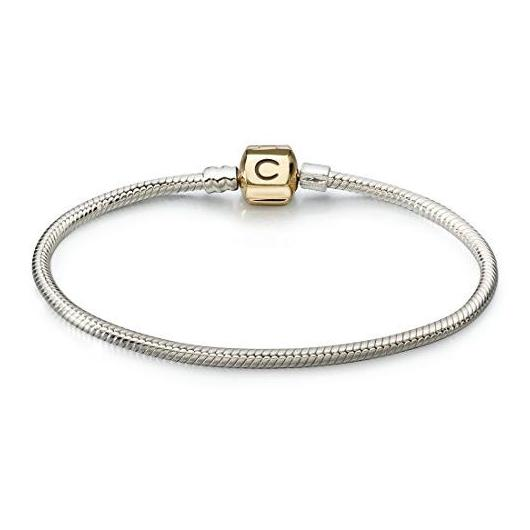418-Authentic-Chamilia-Bracelet-14K-Gold-Snap-CA-2-for-Women-1