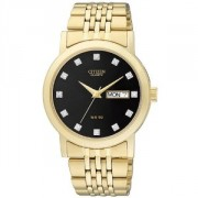 Quartz Day and Date Black Dial Men's Watch