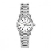 Easy Reader White Dial Expansion Steel Bracelet Watch