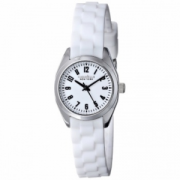 Caravelle New York by Bulova Women's Watch with White Rubber Band