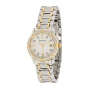 Diamond Accented Calendar Watch