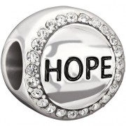Hope – Crystal Swarovski Charm Bead
