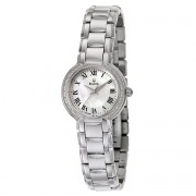 Classic Stainless Steel Diamond-Accented Watch