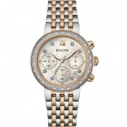 Women's Diamond Chronograph Watch