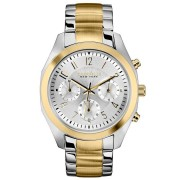 Caravelle New York by Bulova Women's Chronograph Two-Tone Stainless Steel Bracelet Watch