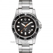 Marine Star Black Dial Bracelet Watch