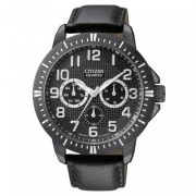 Quartz Day-Date Sports Black Dial Men's Watch