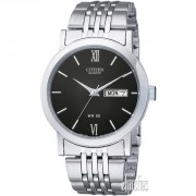 CITIZEN MENS STAINLESS STEEL QUARTZ DRESS WATCH