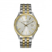 Caravelle New York Watch By Bulova  Stainless Steel Two Tone