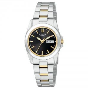 Citizen-EQ0564-59E-Womens-Day-Date-Black-Dial-TT-Bracelet-Watch