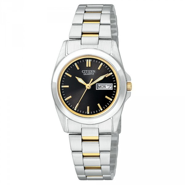 Citizen-EQ0564-59E-Womens-Day-Date-Black-Dial-TT-Bracelet-Watch