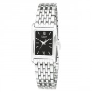 Analog Display Japanese Quartz Silver Watch