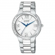 Eco-Drive Ciena Ceramic Diamond Accented Watch