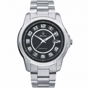 Precisionist Claremont Black Stainless Steel Watch