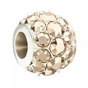 Splendor – Metallic Rose Gold Swarovski Bead