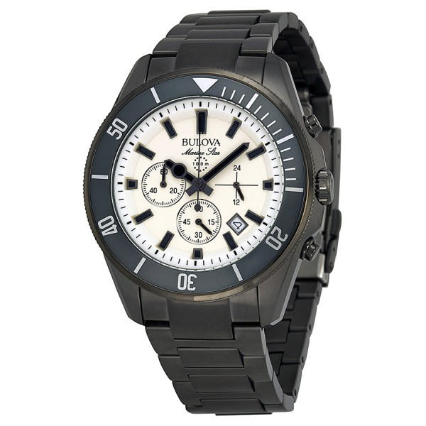 bulova-marine-star-chronograph-cream-dial-gunmetal-ionplated-mens-watch-98b205