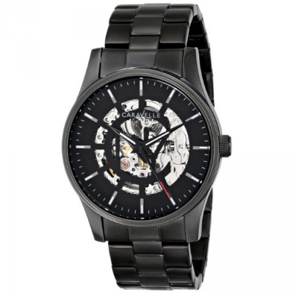 caravelle-new-york-by-bulova-mens-45a121-analog-display-japanese-automatic-black-watch-B00IS4OOWK-1000x1000