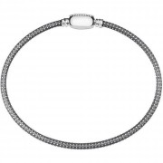 Oval Touch Bracelet – Oxidized