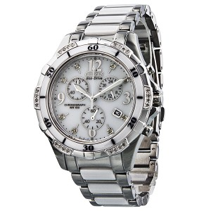 citizen-ecodrive-chronograph-diamond-white-dial-stainless-steel-and-ceramic-ladies-watch-fb123050a