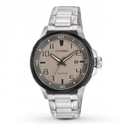 Eco-Drive Stainless Steel AR Men's Watch