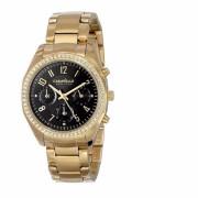 Gold Tone Steel Bracelet & Case Women's Watch