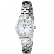 Caravelle by Bulova Women's  Silver/MOP Stainless Steel Watch