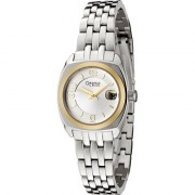 Silver Dial Metal Bracelet Watch