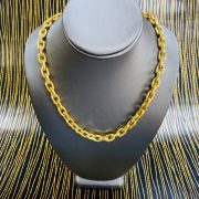 YELLOW GOLD LINK CHAIN