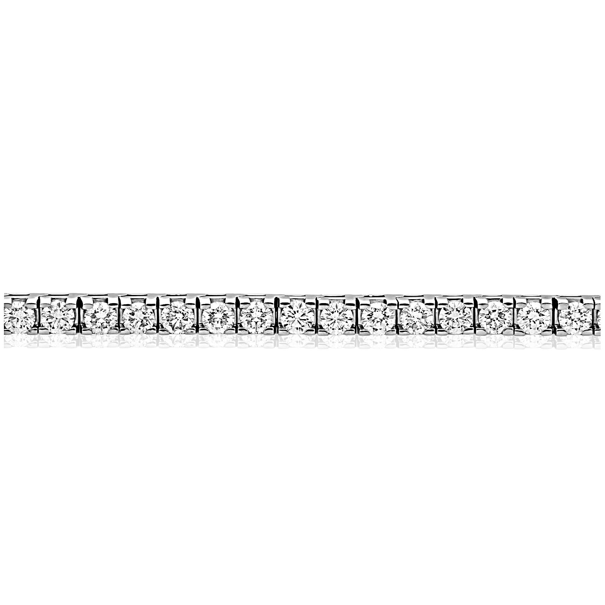 Sonora Diamond Bracelet in White Gold - madeinUSAdiamonds